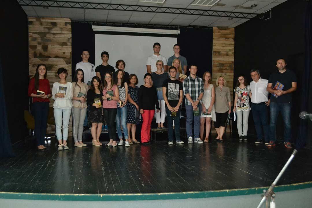 добитници награда на републичким такмичењима са својим професорима