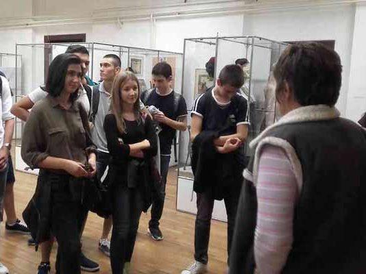 Посета Завичајном музеју и Архиву Средњег Поморавља