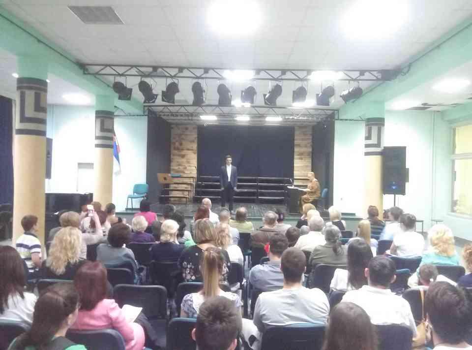 Veče solo pevanja učenika jagodinske gimnazije i muzičke škole Vladimir Đorđević iz Jagodine - slika 26