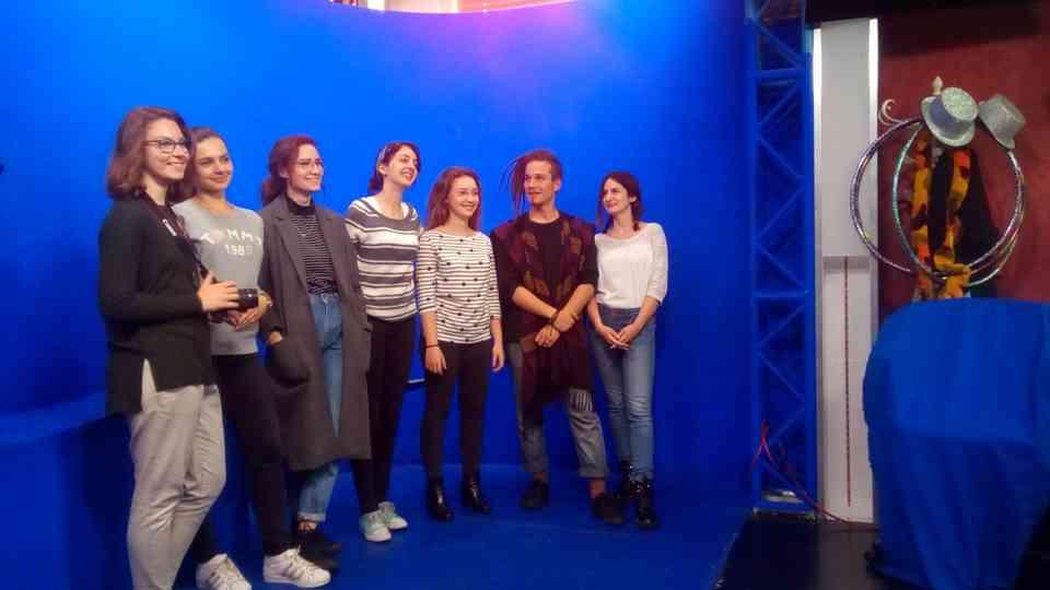 """Čuvena """"plava soba"""" u nacionalnoj austrijskog televiziji ORF"""
