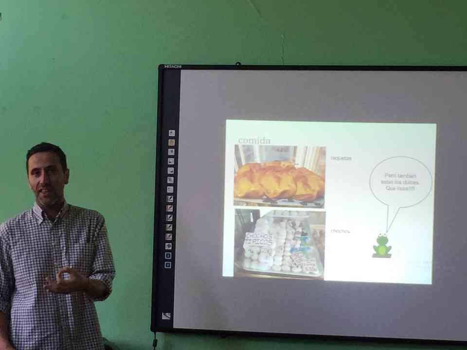 Гоставање професора Хесуса Гонсалеса Переза (Jesús González Pérez) из школе Местер (Mester) из Саламанке - сл. 3