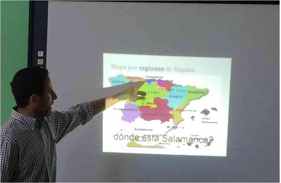 Гоставање професора Хесуса Гонсалеса Переза (Jesús González Pérez) из школе Местер (Mester) из Саламанке - сл. 7