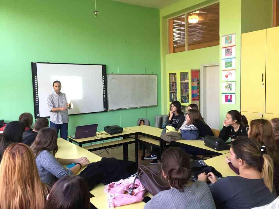 Гоставање професора Хесуса Гонсалеса Переза (Jesús González Pérez) из школе Местер (Mester) из Саламанке - сл. 2