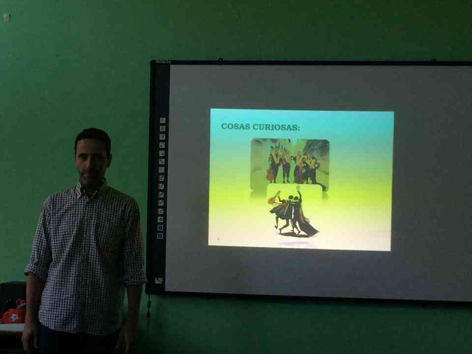 Гоставање професора Хесуса Гонсалеса Переза (Jesús González Pérez) из школе Местер (Mester) из Саламанке - сл. 5